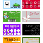 Printable (And Customizable) Play Credit Cards | Free With Credit Card Template For Kids