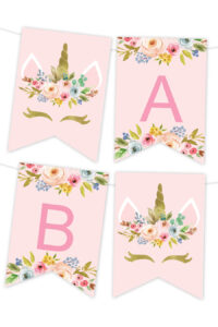 Printable Banners – Make Your Own Banners With Our Printable for Free Printable Party Banner Templates