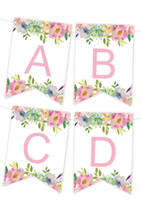 Printable Banners – Make Your Own Banners With Our Printable within Diy Birthday Banner Template