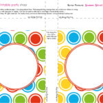 Printable Banners Templates Free | Banner-Squares-Big-Dots throughout Staples Banner Template