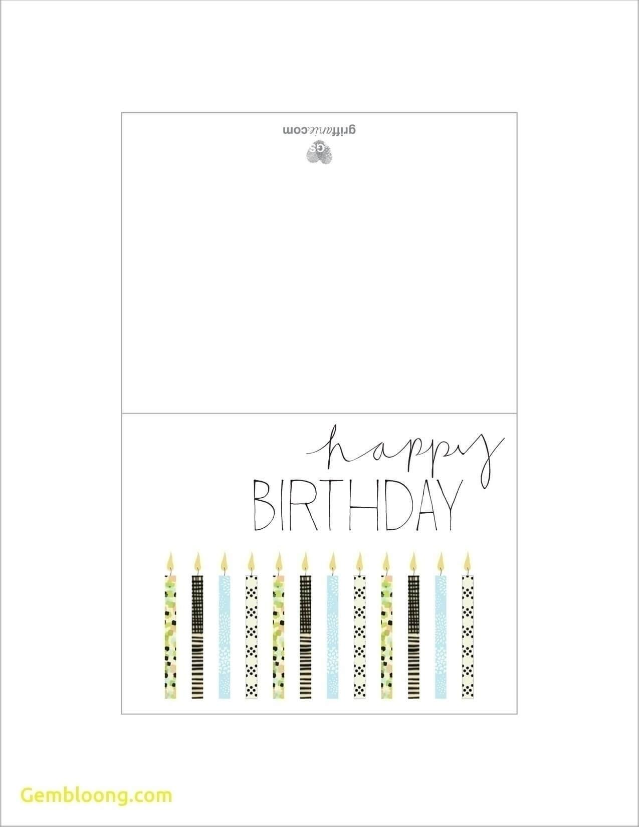 Printable Birthday Cards Foldable For Boys | Chart And For Foldable Birthday Card Template