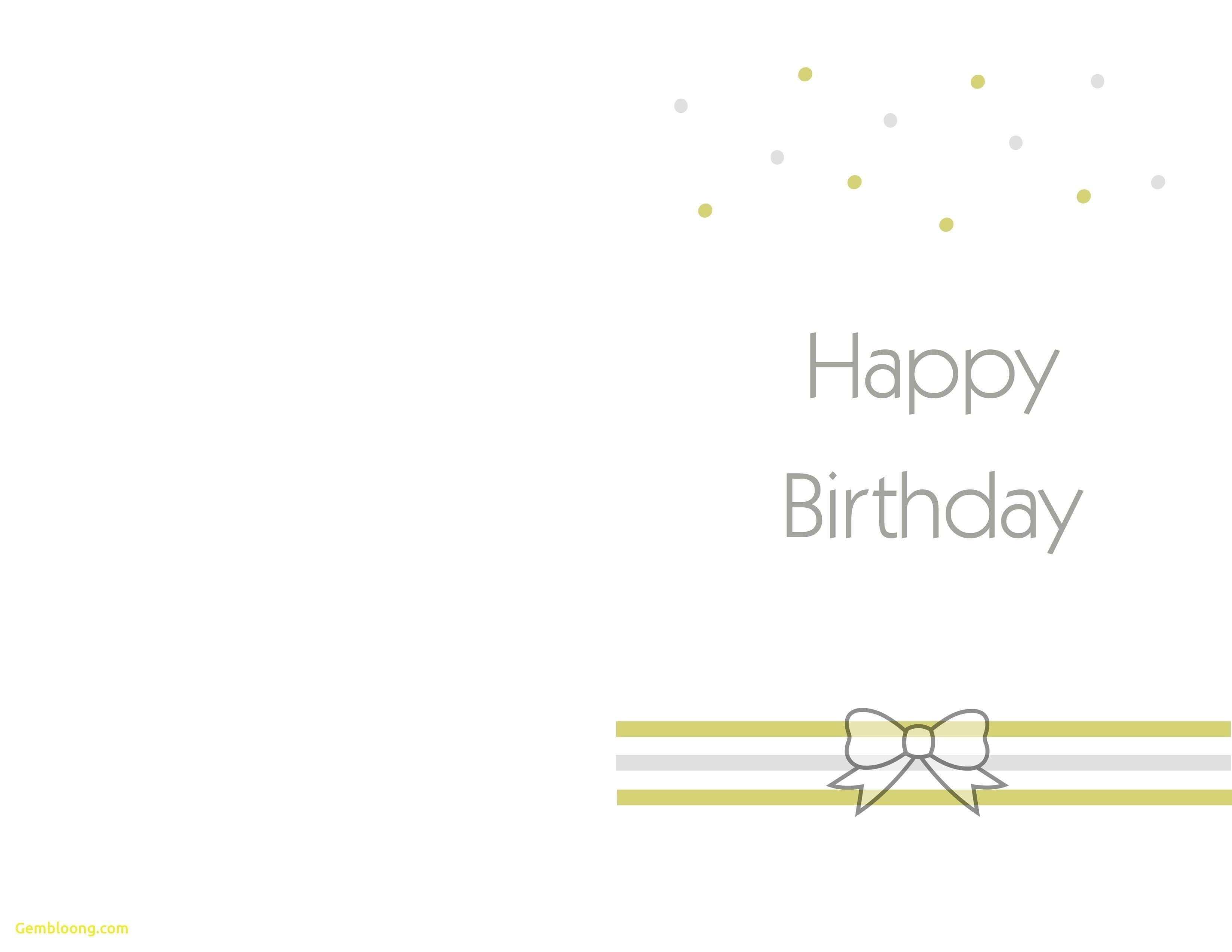 Printable Birthday Cards Foldable | Theveliger Inside Foldable Birthday Card Template