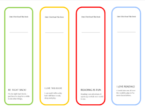 Printable Bookmarks | Printable Bookmarks | Bookmark inside Free Blank Bookmark Templates To Print