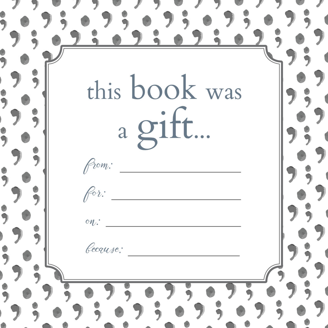 Printable Bookplates For Donated Books | Printables | Books For Bookplate Templates For Word