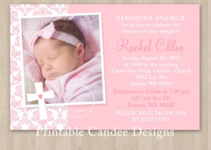 Printable Christening Invitations Templates | Projects To intended for Free Christening Invitation Cards Templates