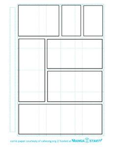 Printable Comic Strip Paper | Reading/writing In 2019 inside Printable Blank Comic Strip Template For Kids