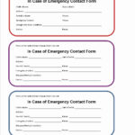 Printable Emergency Card Template Then 7 Best Of Printable Intended For In Case Of Emergency Card Template