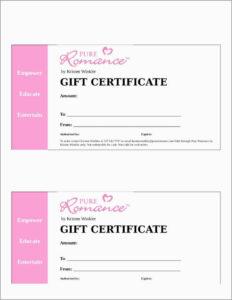 Printable Gift Certificates Templatesree Certificate Online throughout Massage Gift Certificate Template Free Printable