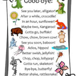Printable Goodbye Cards – Printabletemplates With Regard To Goodbye Card Template