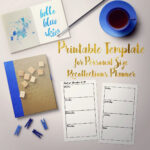 Printable Horizontal Weekly 2 Page Template For Personal Intended For Recollections Card Template