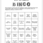 Printable Ice Breaker Game Human Bingo Cards Get To Know You Intended For Ice Breaker Bingo Card Template