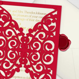 Printable Laser Cut Wedding Invitation Template, Vector throughout Free Svg Card Templates