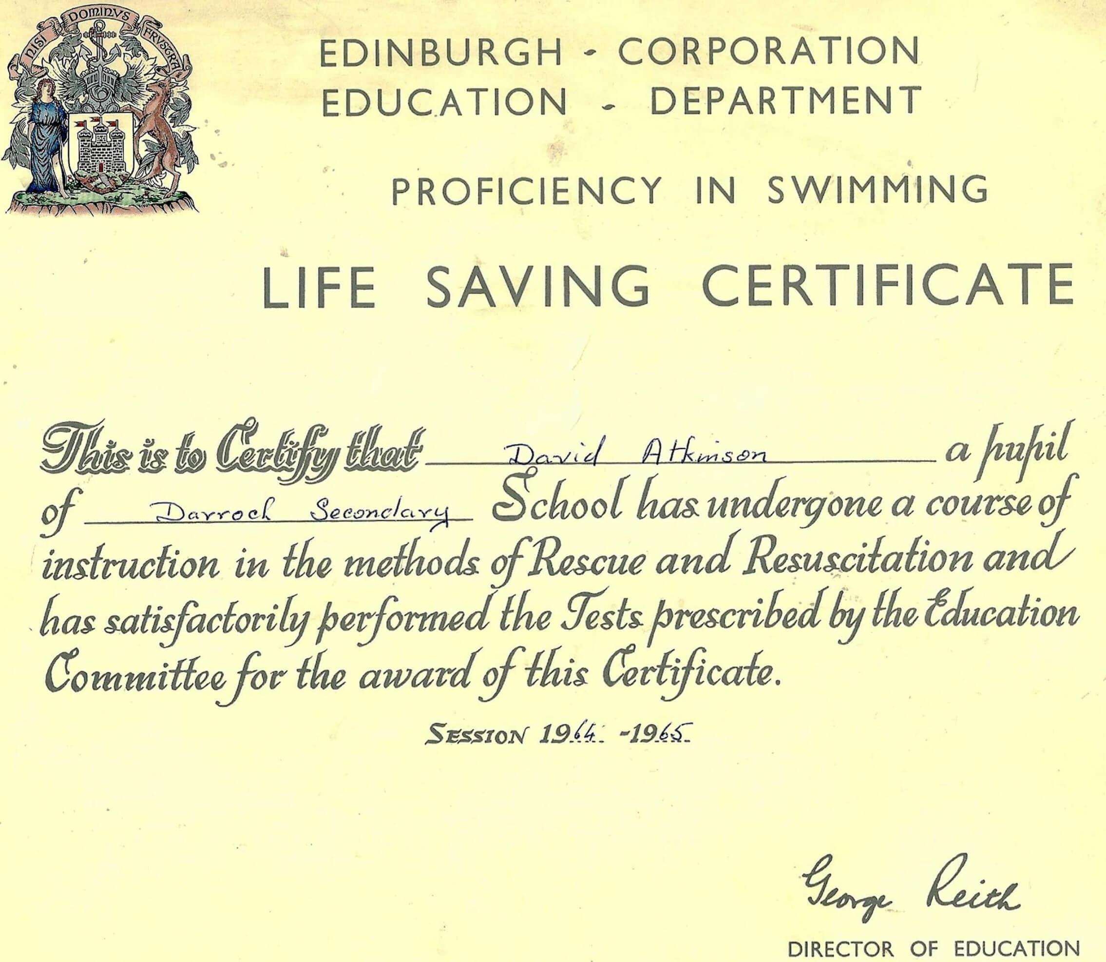 printable police saving life award template life saving