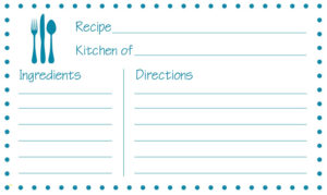 Printable Recipe Card Template Word 650*388 – Recipe Card With Fillable Recipe Card Template