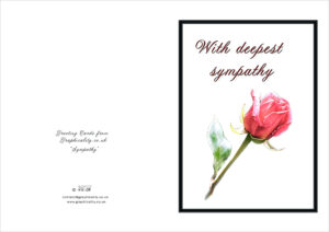Printable Religious Sympathy Cards – Verypage.co in Sorry For Your Loss Card Template