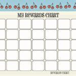 Printable Reward Chart Template   Activity Shelter Throughout Blank Reward Chart Template