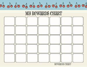 Printable Reward Chart Template | Activity Shelter throughout Blank Reward Chart Template