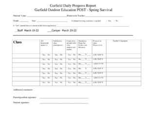 Printable Student Progress Report Template | Progress in Progress Report Template Doc