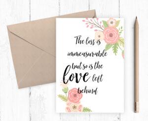 Printable Sympathy Card, Death Anniversary, Condolence Card, Jpg, Pdf  Instant Download, 5X7 Printable Card pertaining to Death Anniversary Cards Templates