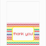 Thank You Card Template Word