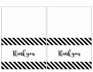 Printable Thank You Card Template Then Free Thank You Cards for Free Printable Thank You Card Template