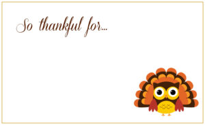 Printable Thanksgiving Placecards ~ Creative Market Blog in Thanksgiving Place Card Templates