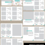 Product Catalog Template For Hat Catalog, Shoe Catalog With Catalogue Word Template