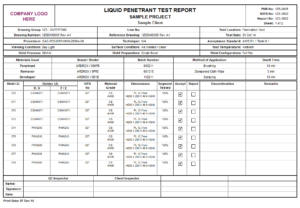 Product Detail Within Welding Inspection Report Template