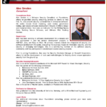 Professional Bio Template | Madinbelgrade Regarding Bio Card Template