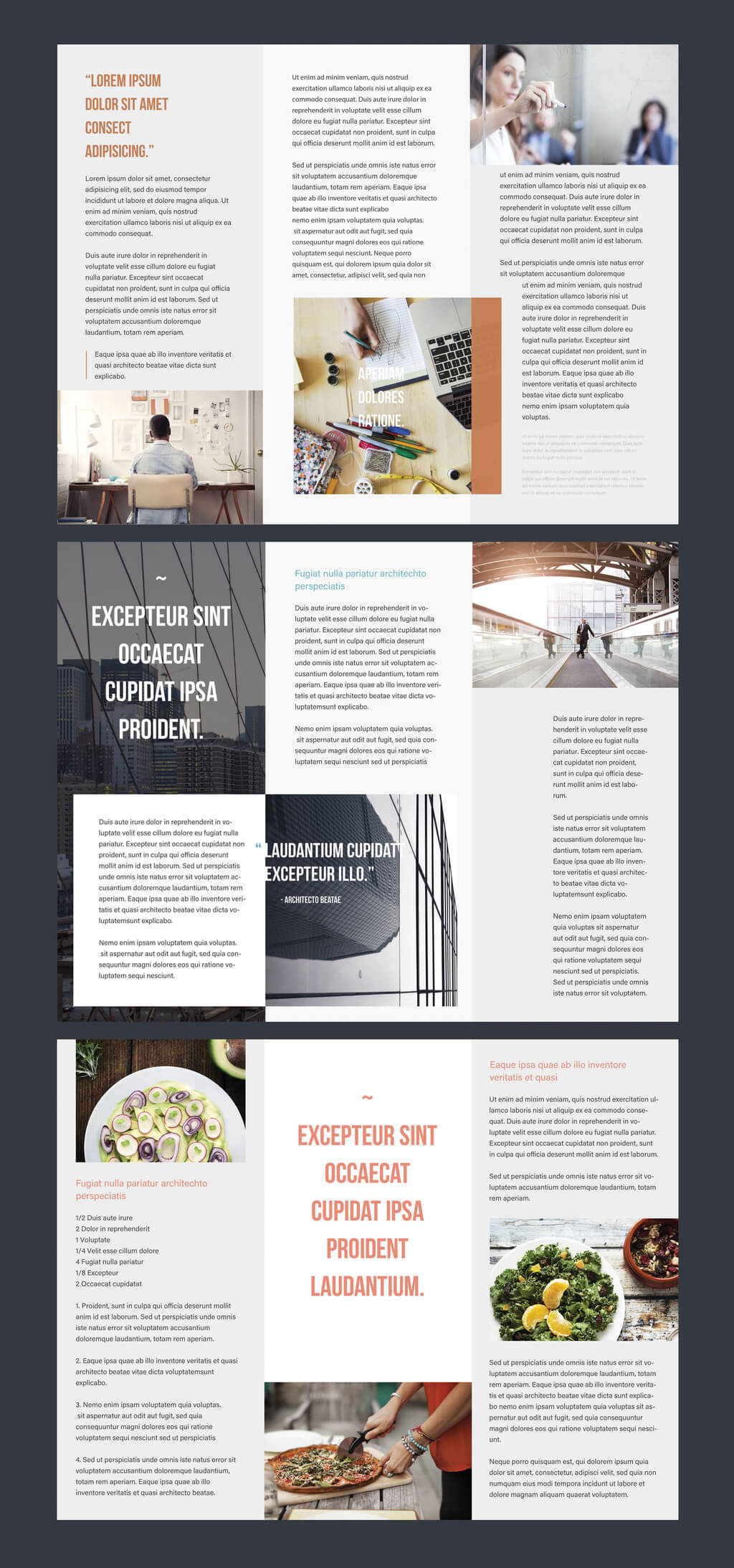 Professional Brochure Templates | Adobe Blog With Regard To Adobe Illustrator Brochure Templates Free Download