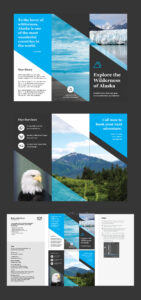 Professional Brochure Templates | Adobe Blog within Brochure Template Illustrator Free Download