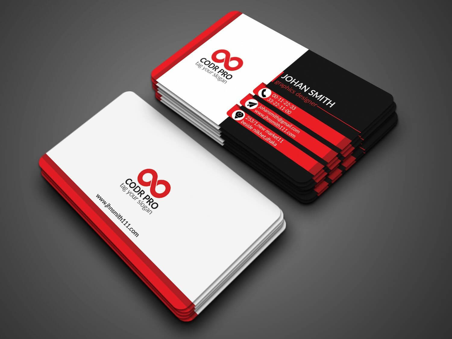 Professional Business Card Design In Photoshop Cs6 Tutorial Inside Photoshop Cs6 Business Card Template