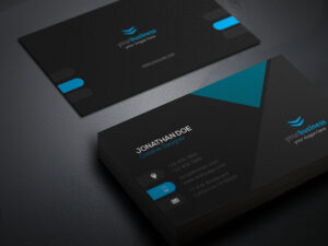 Professional Business Card Design Vector Templates Free inside Professional Business Card Templates Free Download