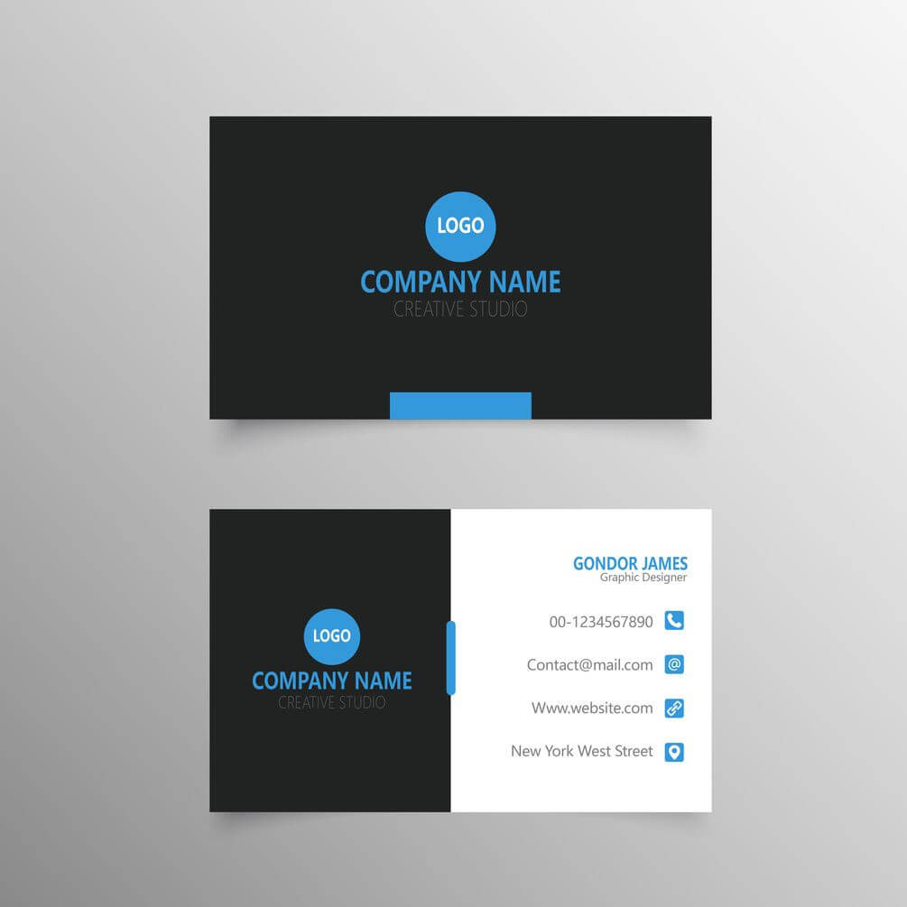 Professional Business Card Template Free Download | Free Throughout Professional Business Card Templates Free Download