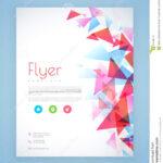 Professional Flyer, Template Or Brochure Design. Stock Inside Professional Brochure Design Templates