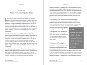 Professional-Looking Book Template For Word, Free – Used To Tech for How To Create A Book Template In Word