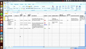 Project Issues Log Template Excel – Www.toib.tk with Software Test Report Template Xls