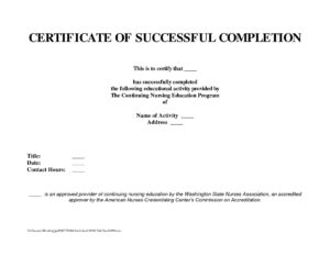 Project Letion Template Schedule Format Certificate College in Certificate Template For Project Completion