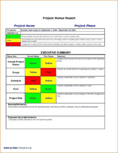 Project Management Overview Template Plan Doc Executive throughout Post Project Report Template