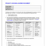 Project Management Report Late Excel Monthly Reports Lates in Project Management Final Report Template