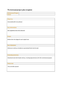 Project Management Report Template Word Tracking WordPress With Regard To Simple Report Template Word