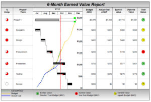 Project Management Software – Milestones Professional 2019 Regarding Earned Value Report Template