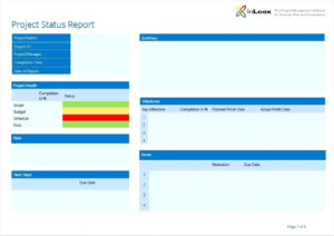 Project Management Update Template Weekly Status Report Ppt pertaining to Weekly Project Status Report Template Powerpoint