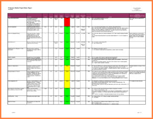 Project Status Report Rmat Excel Weekly Sample Progress R Regarding Daily Project Status Report Template