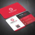Psd Business Card Template On Behance In Psd Visiting Card Templates
