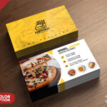 Psd Fast Food Restaurant Business Card Design | Freebie Within Food Business Cards Templates Free