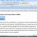 Pt 1 Of 3 Thesis Template From Word regarding Ms Word Thesis Template