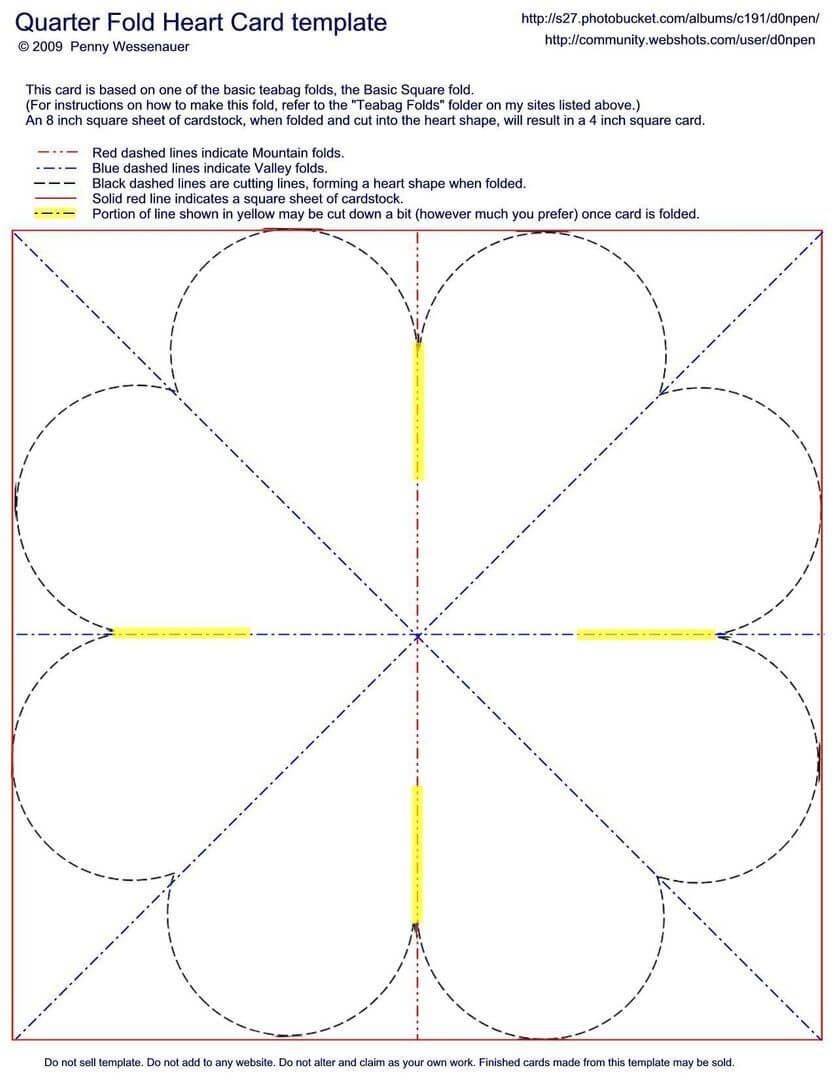 Quarter Fold Card Template Word – Dlword Pertaining To Blank Quarter Fold Card Template
