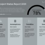 Quarterly Project Status Progress Report Template Template Inside It Progress Report Template