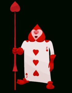 Queen Of Hearts Soldier Card – Google Search | Punch Art throughout Alice In Wonderland Card Soldiers Template